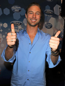 Casey James at the Foxs Meet the Top 12 American Idol finalists held at Industry on March 11th 2010 in Los Angeles 5