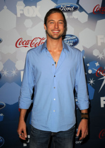 Casey James at the Foxs Meet the Top 12 American Idol finalists held at Industry on March 11th 2010 in Los Angeles 14