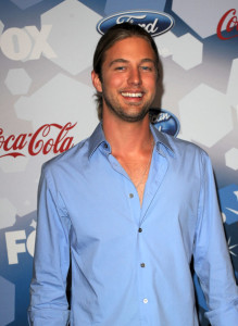Casey James at the Foxs Meet the Top 12 American Idol finalists held at Industry on March 11th 2010 in Los Angeles 6
