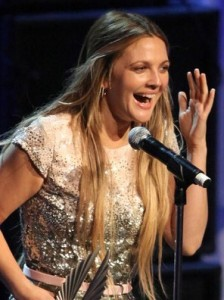 Drew Barrymore onstage at the 21st Annual GLAAD Media Awards held at Hyatt Regency Century Plaza on April 17th 2010 in Century City 6
