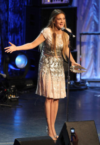 Drew Barrymore onstage at the 21st Annual GLAAD Media Awards held at Hyatt Regency Century Plaza on April 17th 2010 in Century City 3
