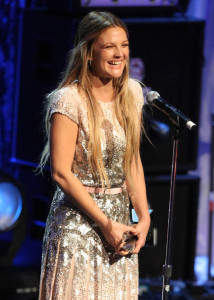 Drew Barrymore onstage at the 21st Annual GLAAD Media Awards held at Hyatt Regency Century Plaza on April 17th 2010 in Century City 1