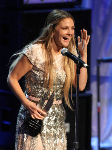 Drew Barrymore onstage at the 21st Annual GLAAD Media Awards held at Hyatt Regency Century Plaza on April 17th 2010 in Century City 5