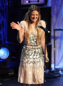 Drew Barrymore onstage at the 21st Annual GLAAD Media Awards held at Hyatt Regency Century Plaza on April 17th 2010 in Century City 4
