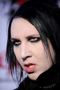 Marilyn Manson arrives at the 2nd annual Revolver Golden Gods Awards held at Club Nokia on April 8th 2010 in Los Angeles 6