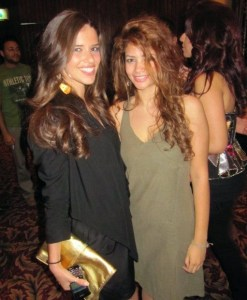 picture of Lara Scandar and Rania Nageeb at Mohamad Serag birthday party on April 21st 2010 in Cairo Egypt 11