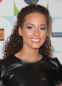 Alicia Keys arrives to Jenesse Centers 30th Anniversary Silver Rose Weekend at the Beverly Hills Hotel on April 18th 2010 in Beverly Hills 5