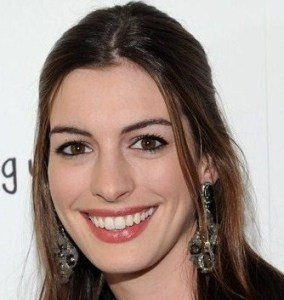Anne Hathaway arrives at the premiere of Breaking Upwards at the Silent Movie Theatre on April 8th 2010 in Los Angeles California 6