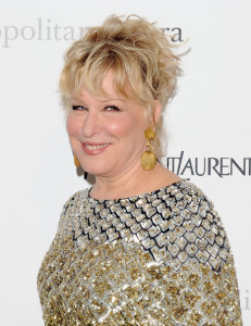 Bette Midler attends the Metropolitan Opera gala permiere of Armida at The Metropolitan Opera House on April 12th 2010 in New York City 4