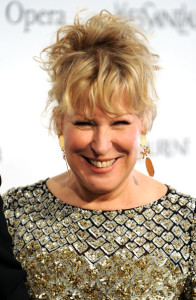Bette Midler attends the Metropolitan Opera gala permiere of Armida at The Metropolitan Opera House on April 12th 2010 in New York City 2