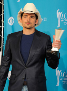 Brad Paisley at the 45th Annual Academy of Country Music Awards at the MGM Grand Garden Arena on April 18th 2010 in Las Vegas 2