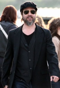 Brad Pitt spotted on April 14th 2010 as he visits the Antolini Luigi warehouse in Sega di Cavaion northern Italy 3