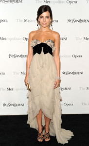 Camilla Belle attends the Metropolitan Opera gala permiere of Armida at The Metropolitan Opera House on April 12th 2010 in New York City 4
