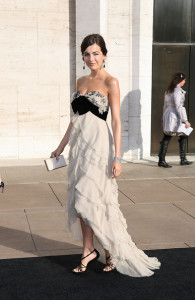Camilla Belle attends the Metropolitan Opera gala permiere of Armida at The Metropolitan Opera House on April 12th 2010 in New York City 2