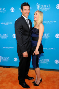 Eddie Cibrian and LeAnn Rimes arrive for the 45th Annual Academy of Country Music Awards at the MGM Grand Garden Arena on April 18th 2010 in Nevada 3