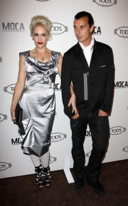 Gwen Stefani and Gavin Rossdale attend the grand opening of Tods Boutique on April 15th 2010 in Beverly Hills 1