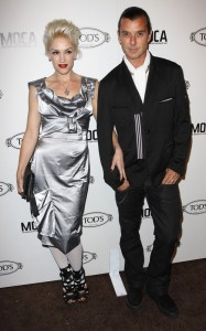 Gwen Stefani and Gavin Rossdale attend the grand opening of Tods Boutique on April 15th 2010 in Beverly Hills 3
