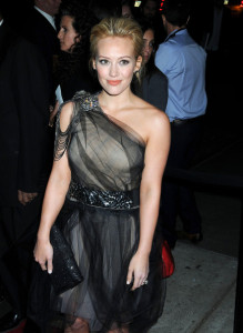 Hilary Duff arrives at the Good Houskeeping Shine On 125 Years of Women Making Their Mark Event held on April 12th 2010 at the New York City Center 1