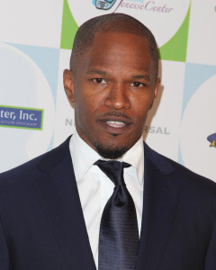 Jamie Foxx arrives to Jenesse Centers 30th Anniversary Silver Rose Weekend at the Beverly Hills Hotel on April 18th 2010 in Beverly Hills 2