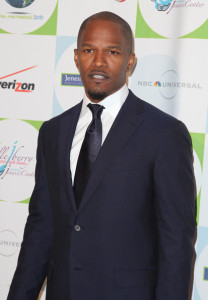 Jamie Foxx arrives to Jenesse Centers 30th Anniversary Silver Rose Weekend at the Beverly Hills Hotel on April 18th 2010 in Beverly Hills 1
