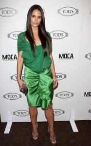 Jordana Brewster arrives at grand opening of Tods Boutique on April 15th 2010 in Beverly Hills 2