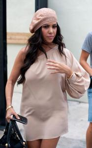 Kourtney Kardashian was spotted on April 9th 2010 while heading to lunch with a friend in Miami at The Standard Hotel 4