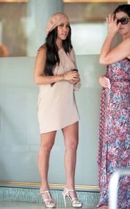 Kourtney Kardashian was spotted on April 9th 2010 while heading to lunch with a friend in Miami at The Standard Hotel 2