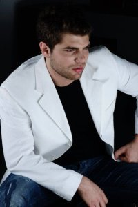 Lebanese star academy graduate Michel Azzi photo shoot of April 2010 to promote his new album 12