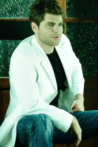 Lebanese star academy graduate Michel Azzi photo shoot of April 2010 to promote his new album 11