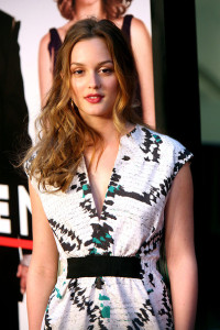 Leighton Meester attends the Date Night premiere on april 6th 2010 at the Ziegfeld Theatre in New York 2