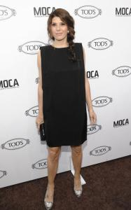 Marisa Tomei arrives at grand opening of Tods Boutique on April 15th 2010 in Beverly Hills 2
