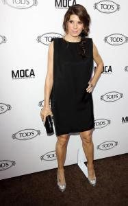 Marisa Tomei arrives at grand opening of Tods Boutique on April 15th 2010 in Beverly Hills 1