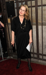 Meryl Streep arrives at the Good Houskeeping Shine On 125 Years of Women Making Their Mark Event held on April 12th 2010 at the New York City Center 3