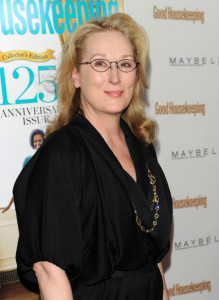Meryl Streep arrives at the Good Houskeeping Shine On 125 Years of Women Making Their Mark Event held on April 12th 2010 at the New York City Center 2