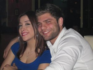 star academy six students Michel Azzi and Tania nemer together in this april 2010 picture 2