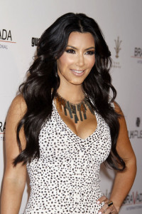 Kim Kardashian arrives to host the Bravada International Launch Party at The Whisper Restaurant and Lounge on April 8th 2010 at The Grove in Los Angeles 6