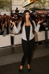 Kim Kardashian at the Optus on Bourke St on April 21st 2010 in Melbourne Australia 4
