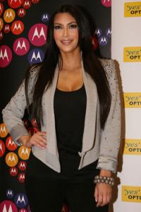 Kim Kardashian at the Optus on Bourke St on April 21st 2010 in Melbourne Australia 5
