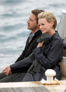 Carey Mulligan and Shia LaBeouf spotted crusing in a boat while spending some romantic time together on May 15th 2010 at the Eden Roc Hotel in Canne 5