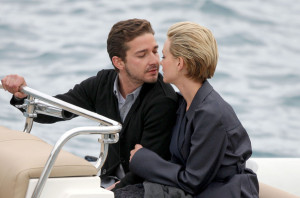 Carey Mulligan and Shia LaBeouf spotted crusing in a boat while spending some romantic time together on May 15th 2010 at the Eden Roc Hotel in Canne 1