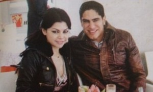 Haifa Wehbe picture with her husband Ahmed abo Hashimah together