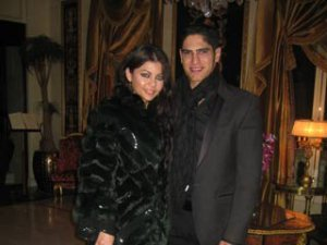 Haifa Wehbe picture with her husband Ahmed abo Hashimah 1