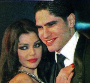 Haifa Wehbe picture with her husband Ahmed abo Hashimah 4
