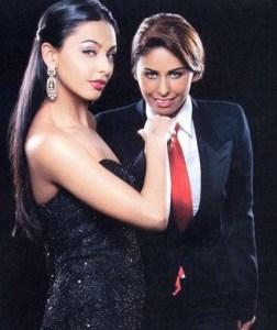 Mais Hemdan photo shoot with her sister May Selim for Kalam Al Nass magazine 4