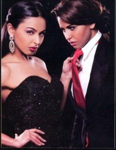 Mais Hemdan photo shoot with her sister May Selim for Kalam Al Nass magazine 2
