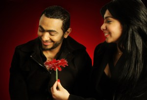 Tamer Hosny high quality poster photo shoot with Mirhan Hussein 1