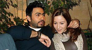 Tamer Hosny picture with Menna Shalabi during the filming of their new upcoming movie Noor Aini 16