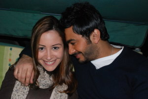 Tamer Hosny picture with Menna Shalabi during the filming of their new upcoming movie Noor Aini 12