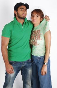 Tamer Hosni photo shoot with actress Zeina 2