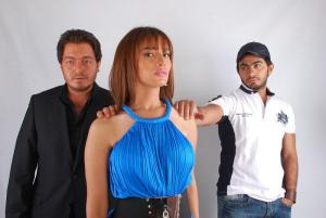 Tamer Hosni photo shoot with actress Zeina 3